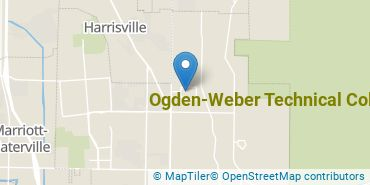 Location of Ogden-Weber Technical College