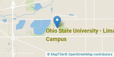 Location of Ohio State University - Lima Campus