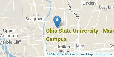 Location of Ohio State University - Main Campus