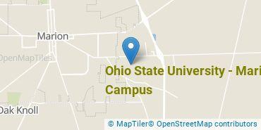 Location of Ohio State University - Marion Campus