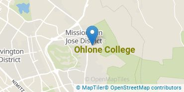 Location of Ohlone College