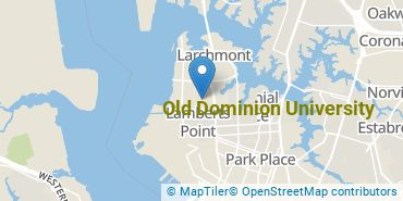 Location of Old Dominion University