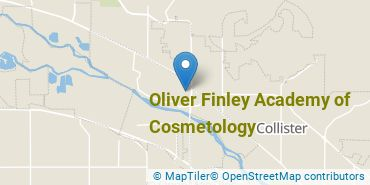Location of Oliver Finley Academy of Cosmetology