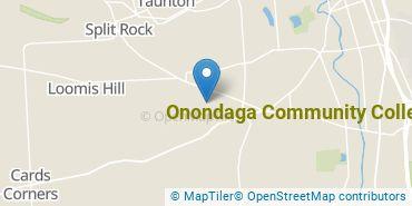 Location of Onondaga Community College