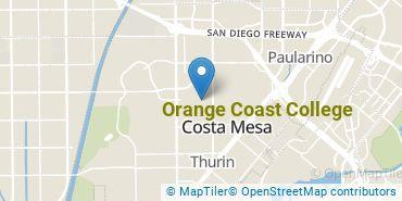 Location of Orange Coast College