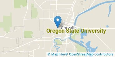 Location of Oregon State University
