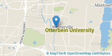 Location of Otterbein University
