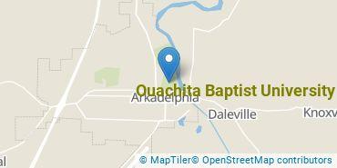 Location of Ouachita Baptist University