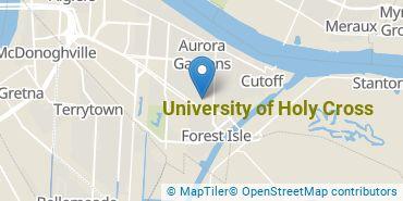 Location of University of Holy Cross