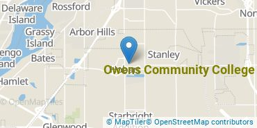Location of Owens Community College
