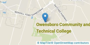 Location of Owensboro Community and Technical College