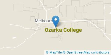 Location of Ozarka College