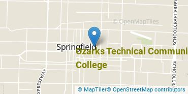 Location of Ozarks Technical Community College