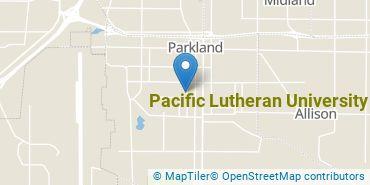 Location of Pacific Lutheran University