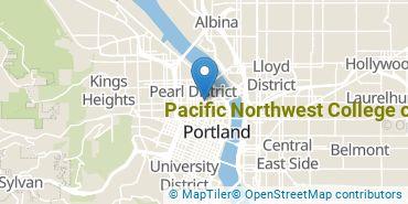 Location of Pacific Northwest College of Art