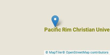 Location of Pacific Rim Christian University