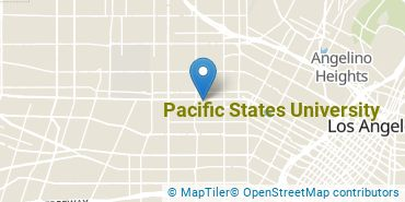 Location of Pacific States University