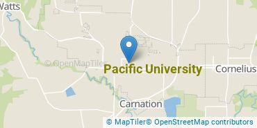 Location of Pacific University