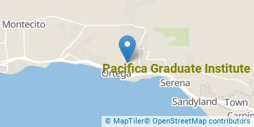 Location of Pacifica Graduate Institute