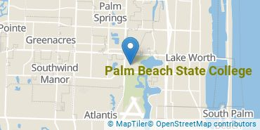 Location of Palm Beach State College