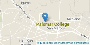 Location of Palomar College