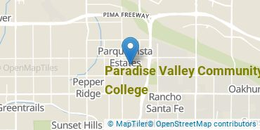 Location of Paradise Valley Community College
