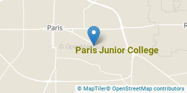 Location of Paris Junior College