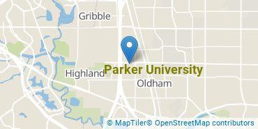 Location of Parker University