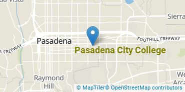 Location of Pasadena City College