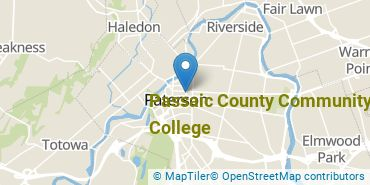 Location of Passaic County Community College