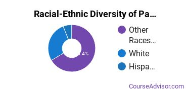 Racial-Ethnic Diversity of Paul Mitchell the School Boise Undergraduate Students