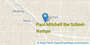 Location of Paul Mitchell the School Nampa
