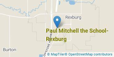 Location of Paul Mitchell the School Rexburg