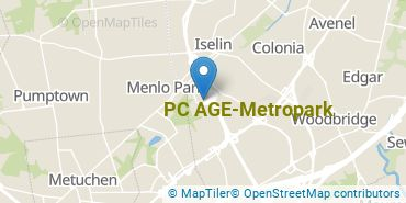 Location of PC AGE - Metropark