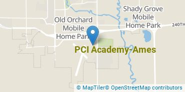 Location of PCI Academy-Ames