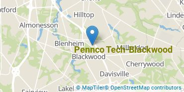 Location of Pennco Tech-Blackwood