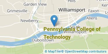 Location of Pennsylvania College of Technology