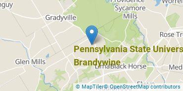 Location of Pennsylvania State University - Brandywine