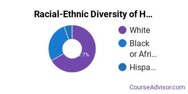 Racial-Ethnic Diversity of Human Development & Family Studies Majors at Pennsylvania State University - Altoona