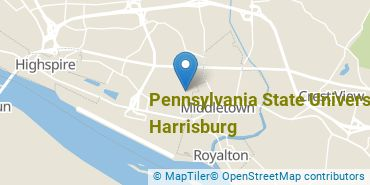 Location of Pennsylvania State University - Harrisburg