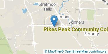 Location of Pikes Peak Community College