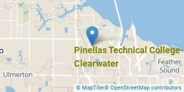 Location of Pinellas Technical College-Clearwater