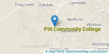 Location of Pitt Community College