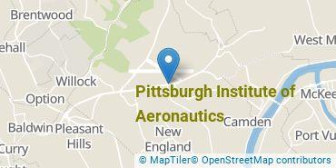 Location of Pittsburgh Institute of Aeronautics
