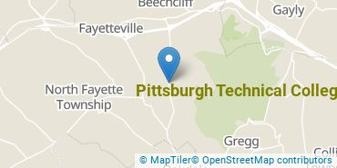 Location of Pittsburgh Technical College