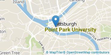 Location of Point Park University