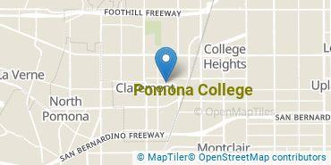 Location of Pomona College