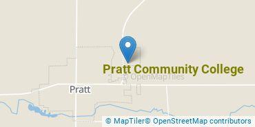Location of Pratt Community College