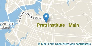 Location of Pratt Institute - Main