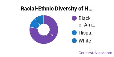 Racial-Ethnic Diversity of Human Services Majors at Prince George's Community College